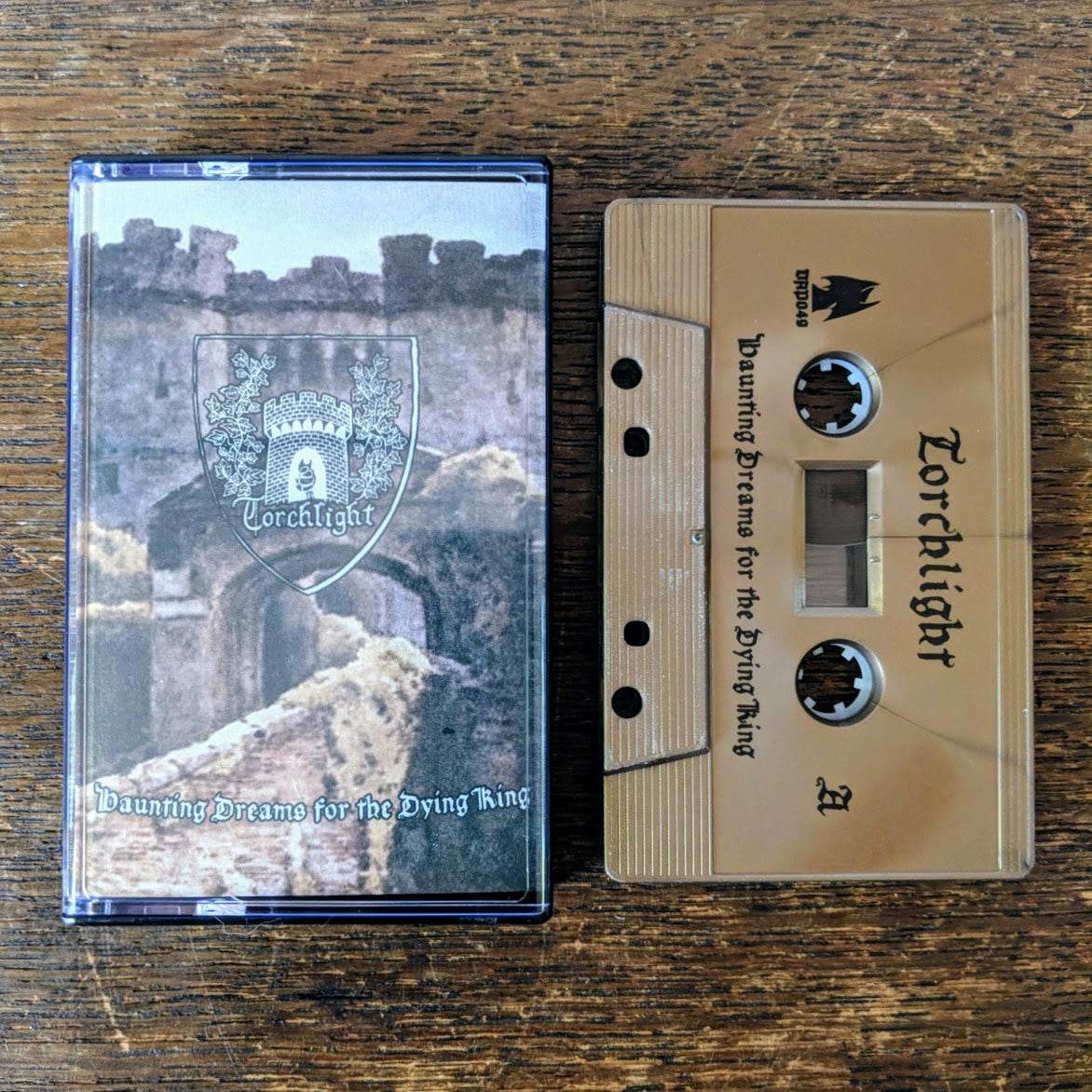 "[SOLD OUT] TORCHLIGHT ""Haunting Dreams for the Dying King"" Cassette Tape"