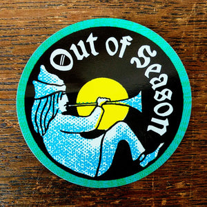 "OUT OF SEASON ""Spoony Bard"" Stickers (set of 2)"