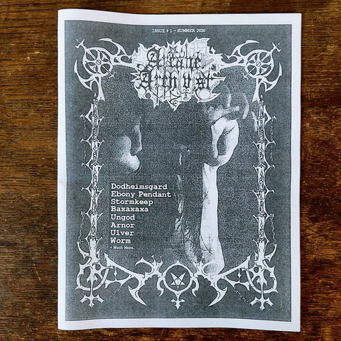 [SOLD OUT] ARCANE ARCHIVIST ISSUE #1 [Fanzine]