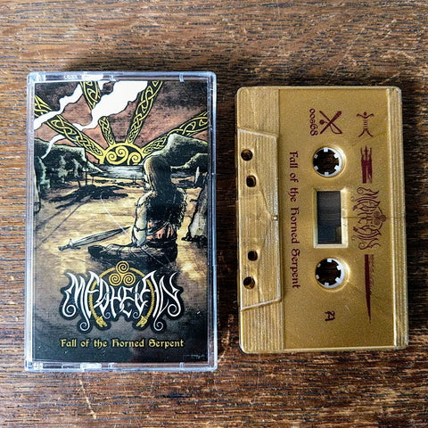 "MEDHELAN ""Fall of the Horned Serpent"" Cassette Tape"