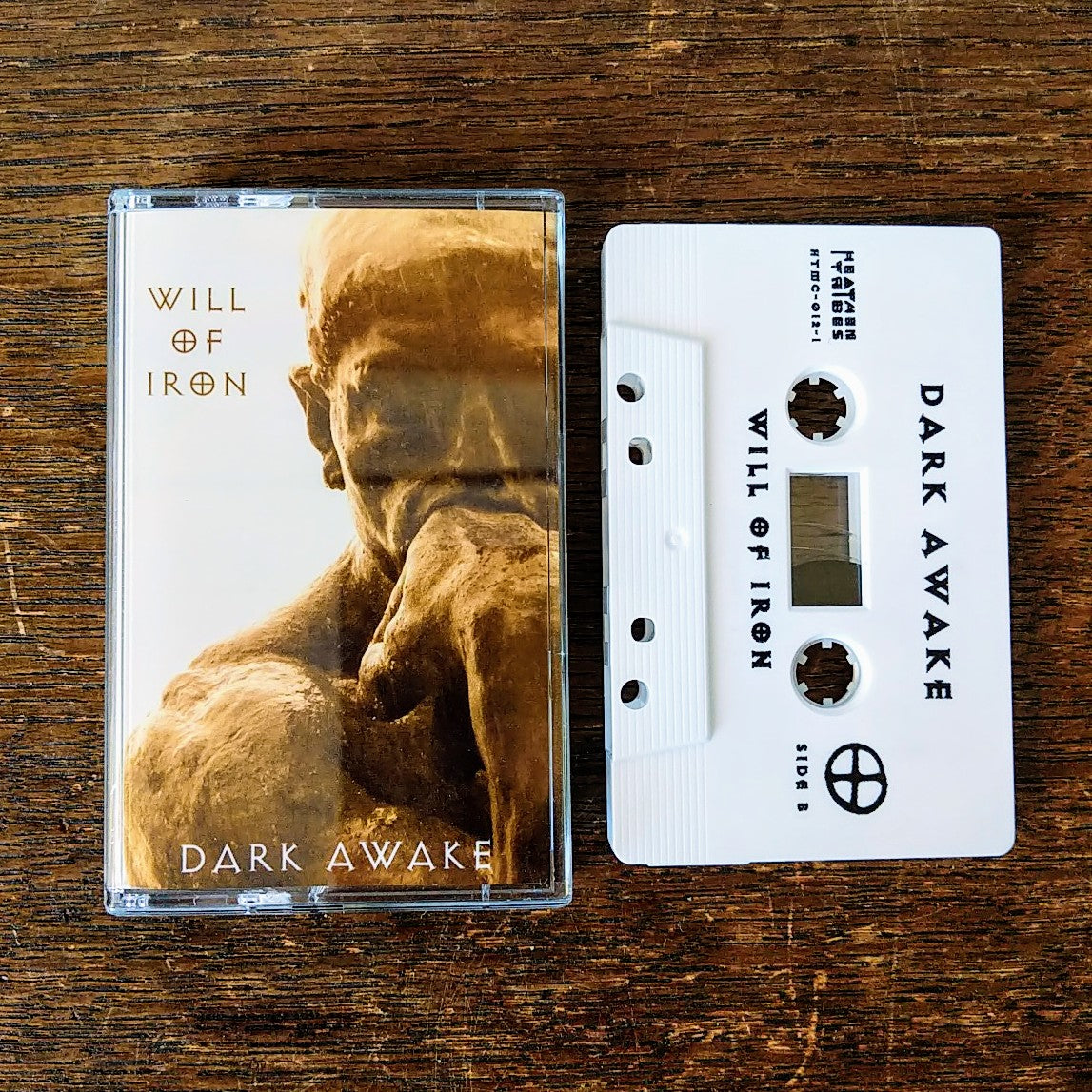 "[SOLD OUT] DARK AWAKE ""Will of Iron"" Cassette Tape"