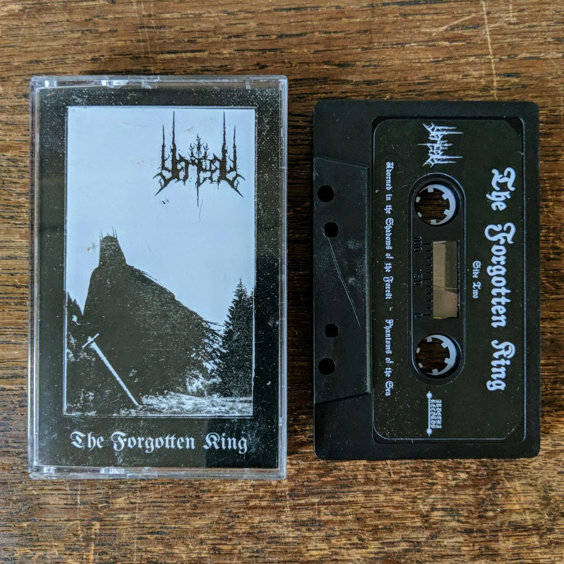 "VANGAR ""The Forgotten King"" Cassette Tape"