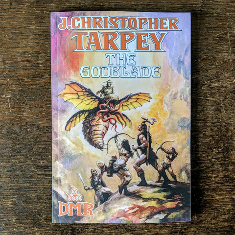 [SOLD OUT] THE GODBLADE by J. Christopher Tarpey [Paperback book]