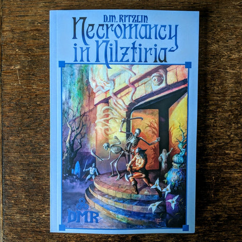 [SOLD OUT] NECROMANCY IN NILZTIRIA by D.M. Ritzlin [Paperback book]