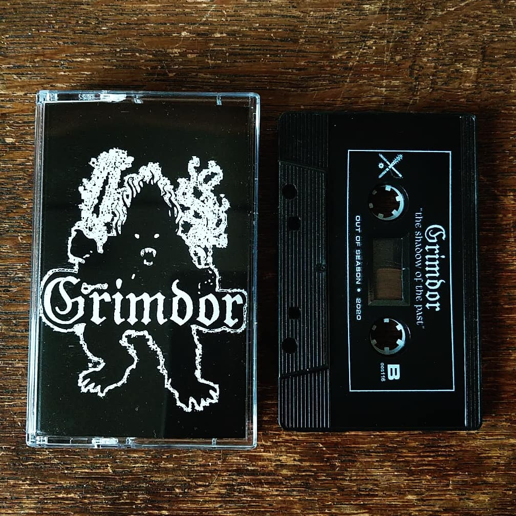 "[SOLD OUT] GRIMDOR ""The Shadow of the Past"" Cassette Tape"