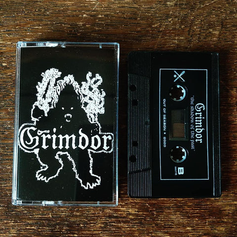 "GRIMDOR ""The Shadow of the Past"" Cassette Tape"