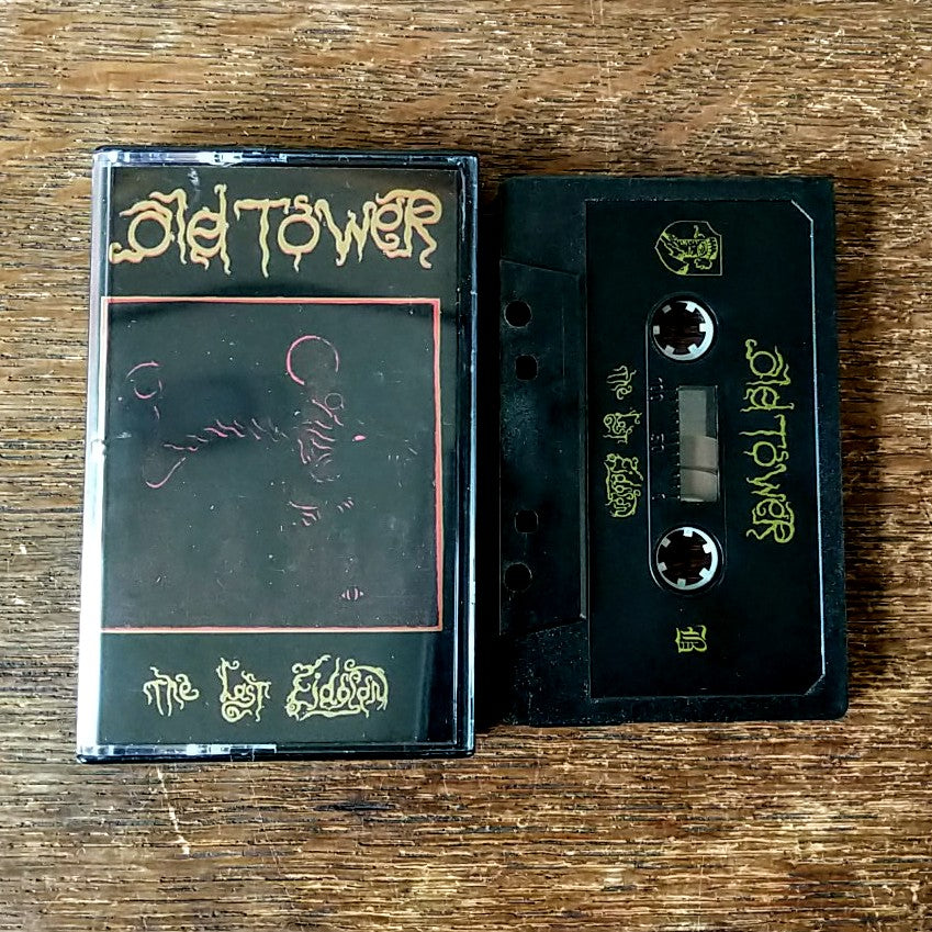"[SOLD OUT] OLD TOWER ""The Last Eidolon"" Cassette Tape"