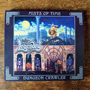 "LEGENDRY ""Mists of Time / Dungeon Crawler"" 2xCD (w/ slipcase)"