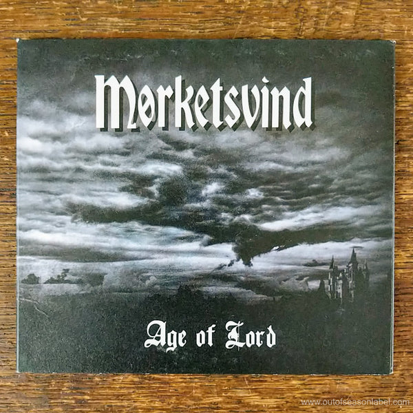 "MORKETSVIND ""Age of Lord"" CD - LAST COPY"