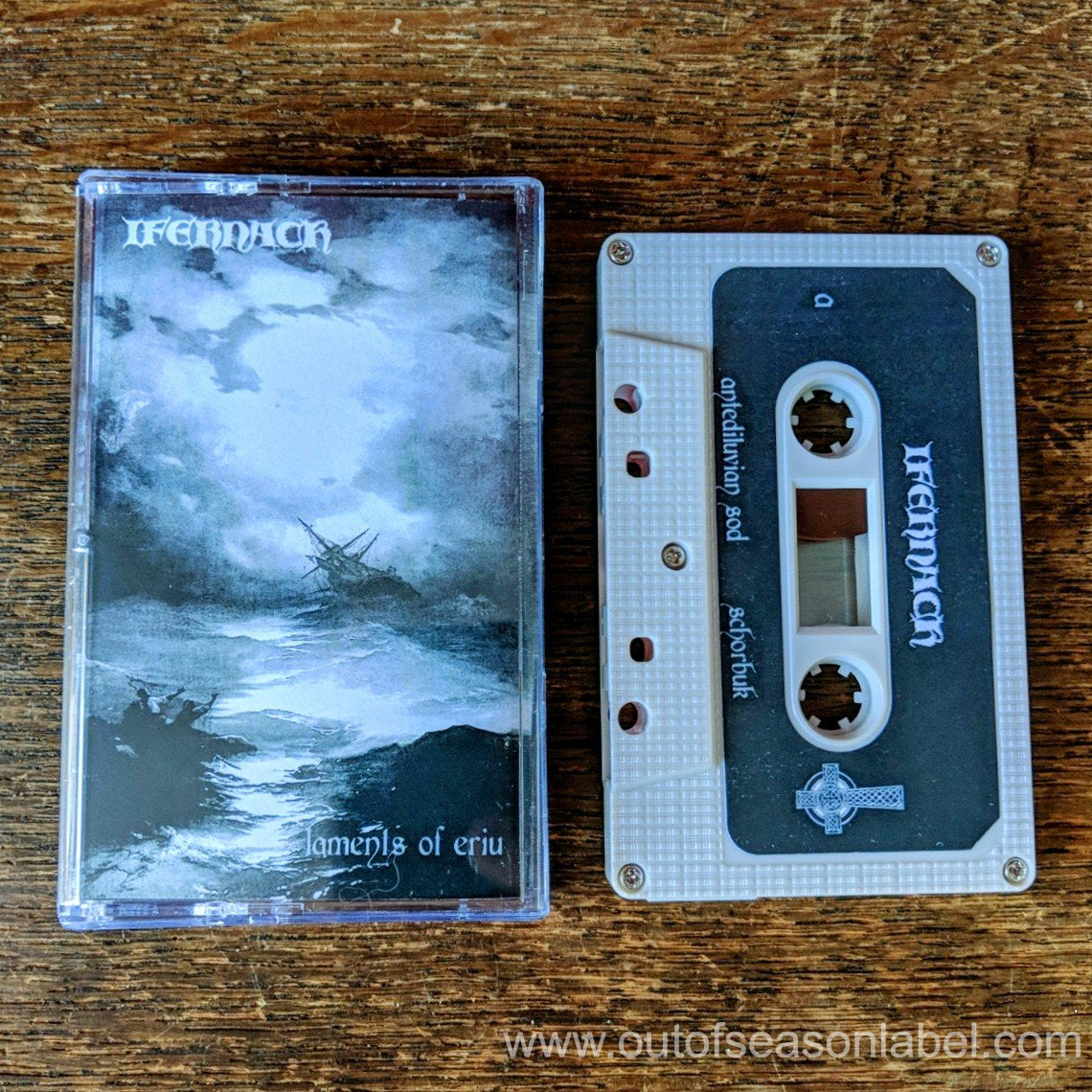 "[SOLD OUT] IFERNACH ""Laments of Eriu"" Cassette Tape"