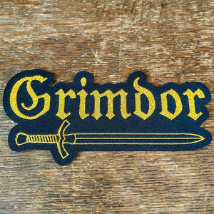 "GRIMDOR ""Gold"" Patch"