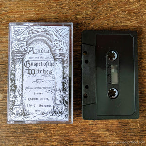 "WILL O' THE WITCH ""Aradia & The Gospel of Witches"" (1992) Cassette Tape"