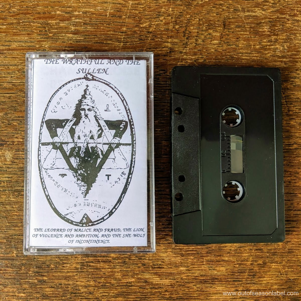 "THE WRATHFUL AND THE SULLEN ""The Leopard Of Malice & Fraud"" (1992) Cassette Tape"