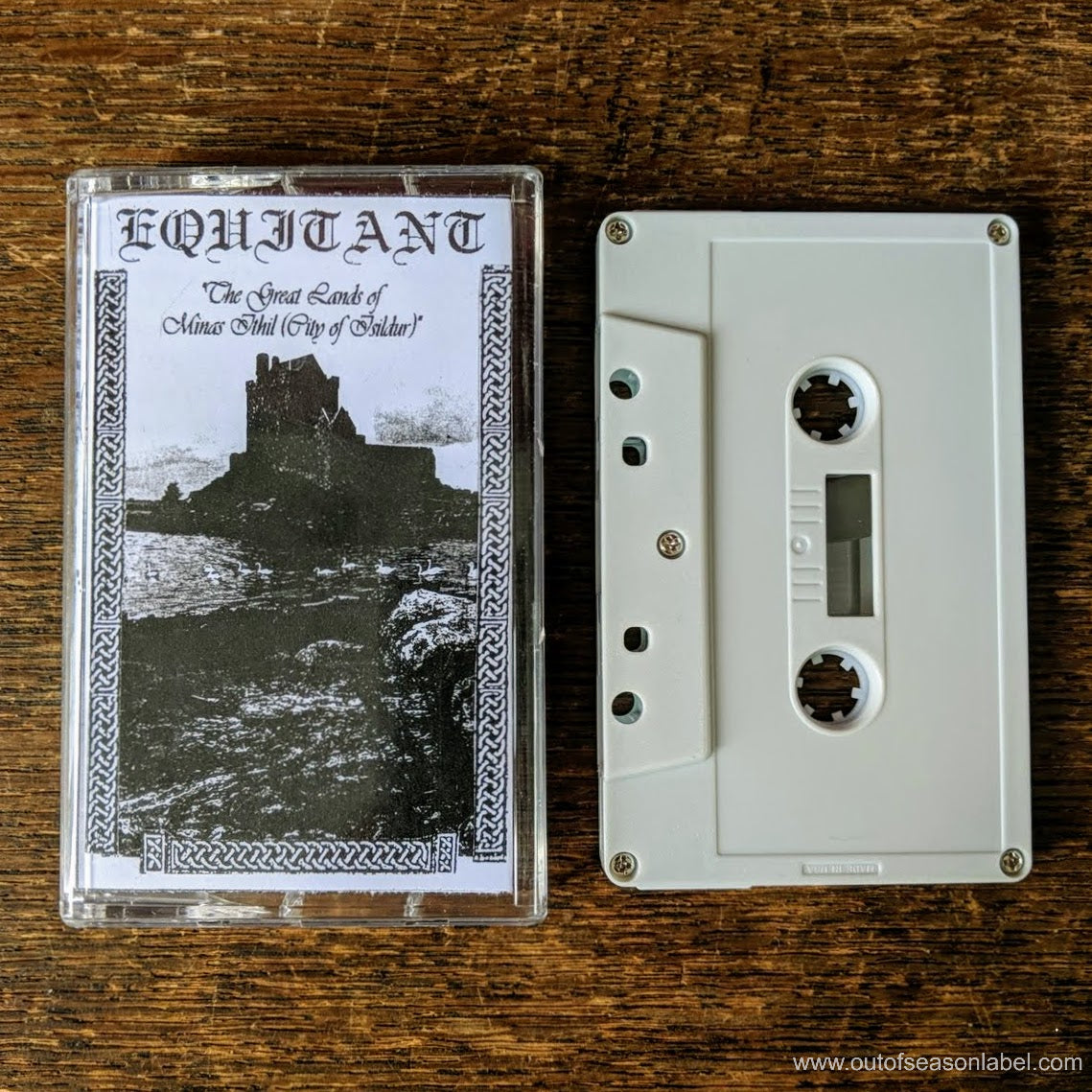 "[SOLD OUT] EQUITANT ""The Great Lands Of Minas Ithil"" (1994) Cassette Tape"