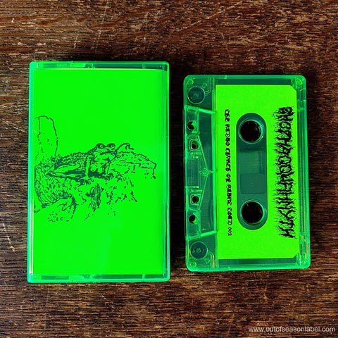 "ZHOTHAQQUAHNYTH ""Drink Robo Worship The Toad God"" Cassette Tape"