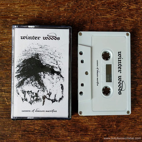 "WINTER WOODS ""Cavern of Obscure Sacrifice"" Cassette Tape"