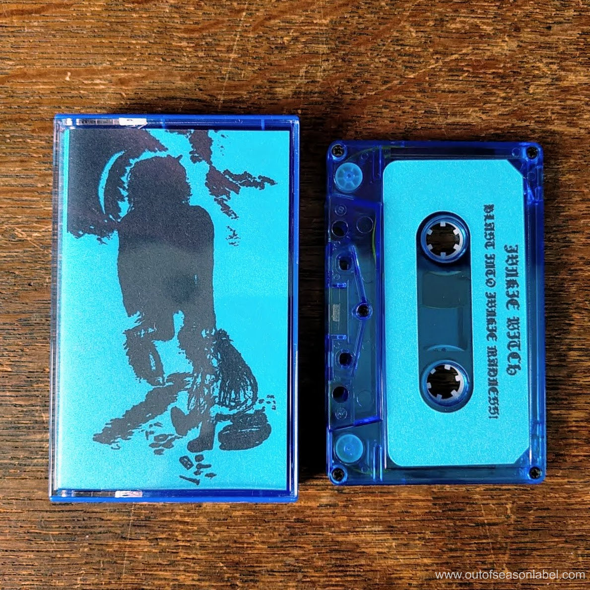 "[SOLD OUT] JUNKIE WITCH ""Blast into Junkie Madness!"" Cassette Tape"