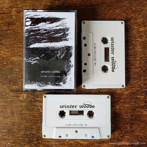 "WINTER WOODS ""Bewitched in Black Moonlight"" 2xCassette Tape"