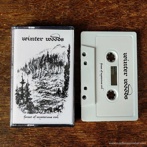 "WINTER WOODS ""Forest of Mysterious Evil"" Cassette Tape"
