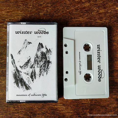 "WINTER WOODS ""Mountain of Unknown Gods"" Cassette Tape"