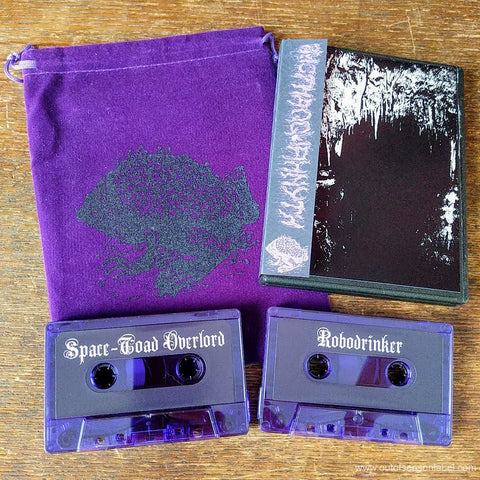 "ZHOTHAQQUAHNYTH ""Rehearsal at the Church of Saint Toad"" 2xCassette Tape"