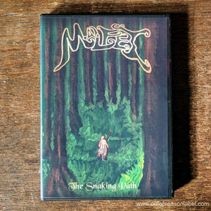 "MALFET ""The Snaking Path"" CD"