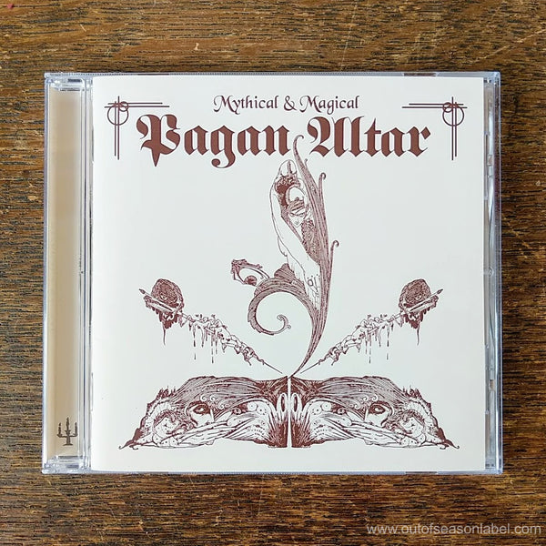 "PAGAN ALTAR ""Mythical and Magical"" CD"