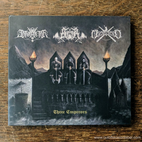 "ELFFOR / MURGRIND / BARAK TOR ""Three Emperors"" CD"
