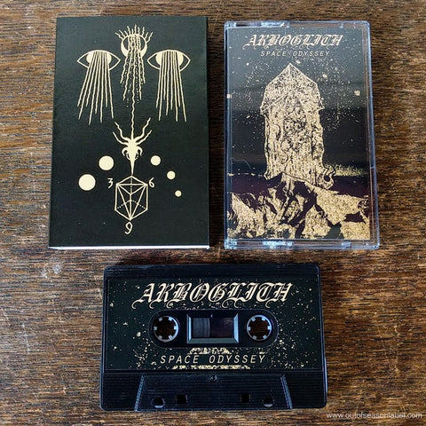 "ARBOGLITH ""Space Odyssey"" Cassette Tape (w/ slipcase)"