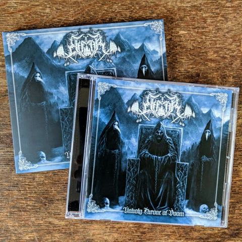"ELFFOR ""Unholy Throne Of Doom"" CD w/ Slipcase"