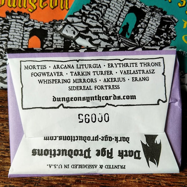 [SOLD OUT] Dungeon Synth Trading Cards Series I Wax Pack (Set of 10)