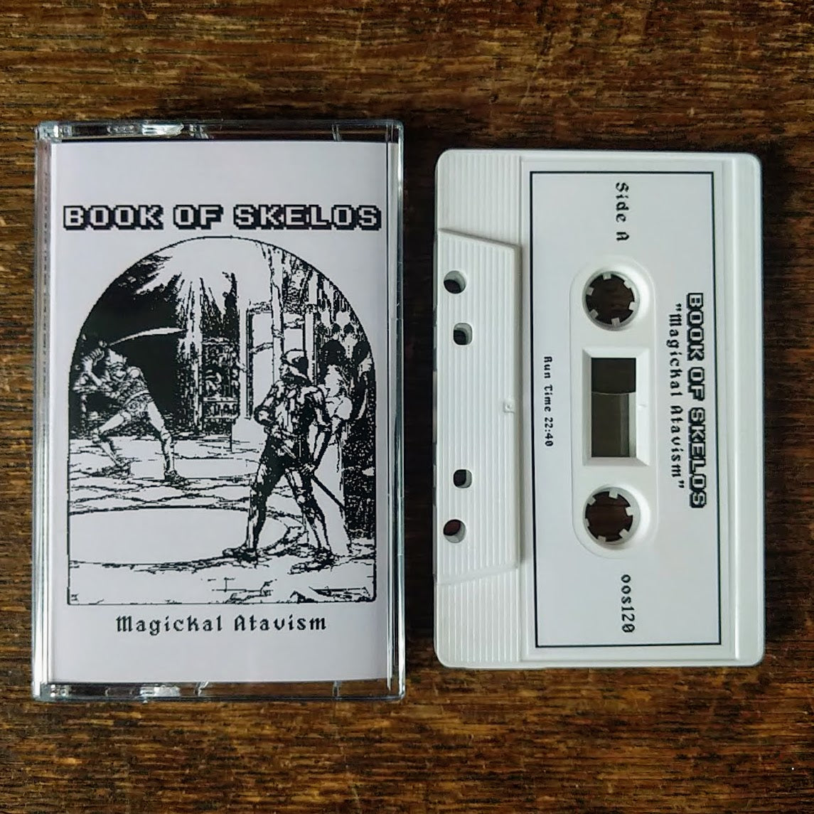 "BOOK OF SKELOS ""Magickal Atavism"" Cassette Tape"