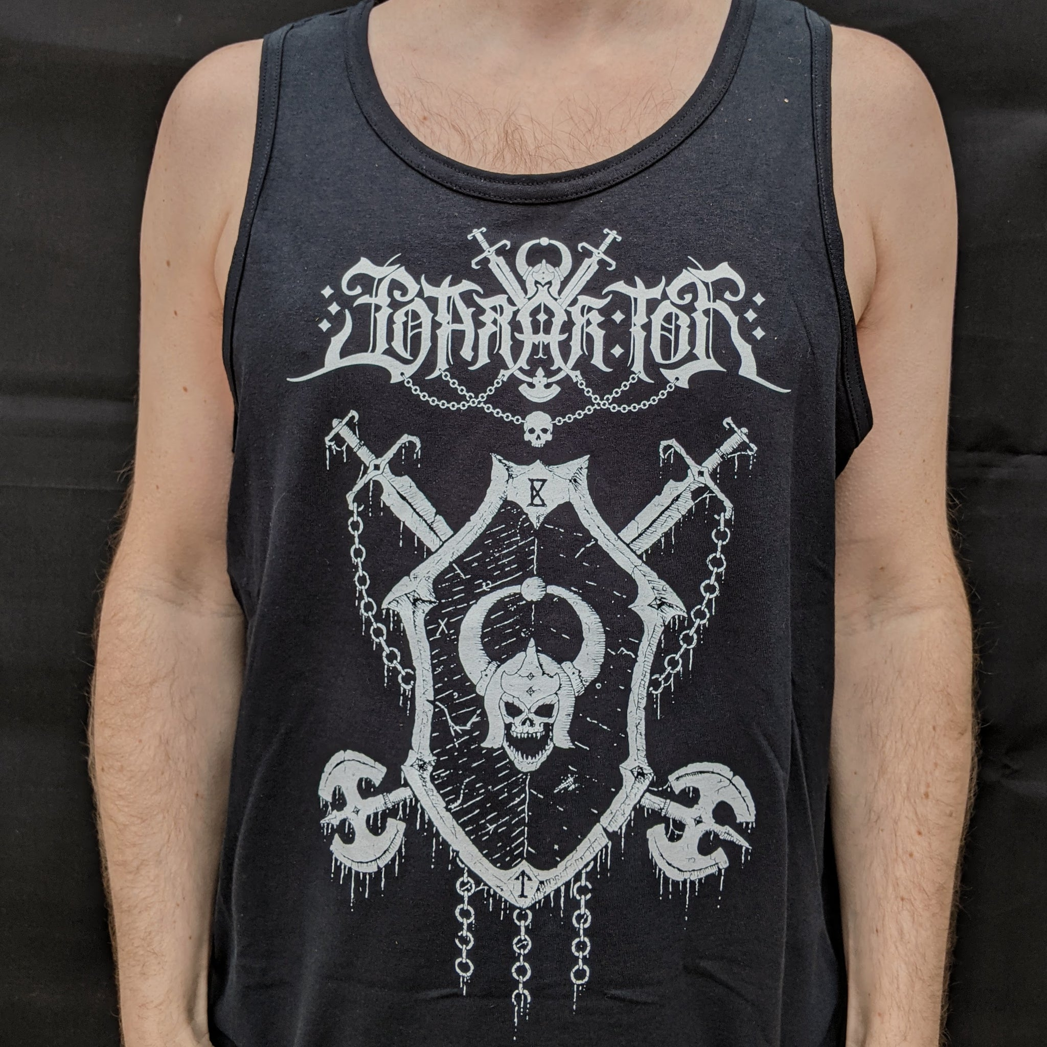 "BARAK TOR ""With Axe and Sword"" Tank Top"