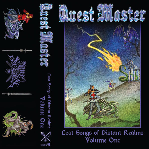 "[SOLD OUT] QUEST MASTER ""Lost Songs of Distant Realms - Complete Collection"" 2xPro-Tape"