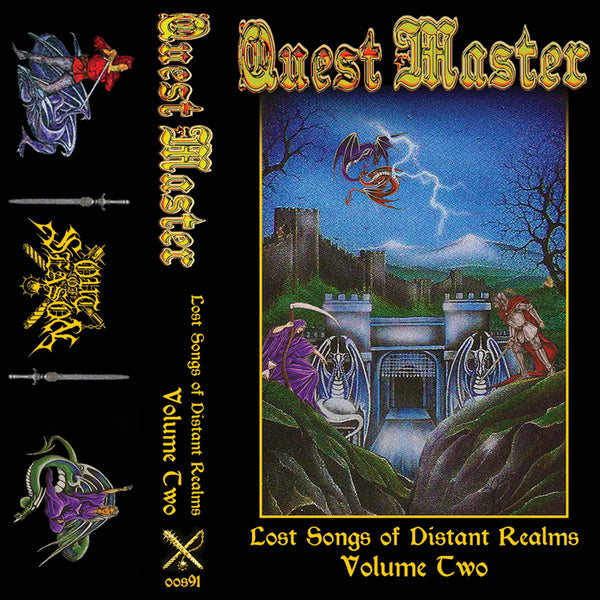 "QUEST MASTER ""Lost Songs of Distant Realms"" 2xPro-Tape"
