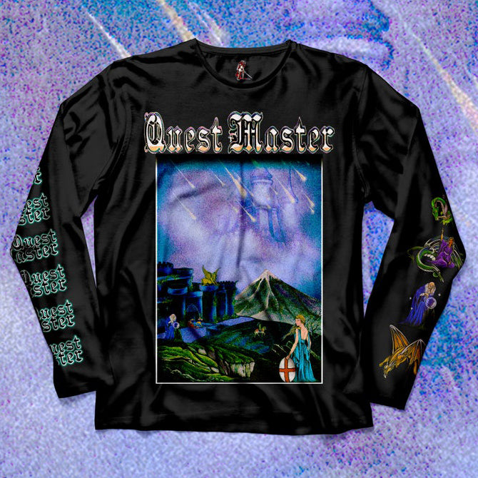 "[SOLD OUT] QUEST MASTER ""The Twelve Castles"" Longsleeve"