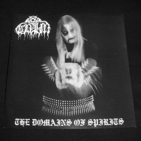 "GRIM ""The Domain of Spirits"" 7"" Vinyl (deadstock copies)"