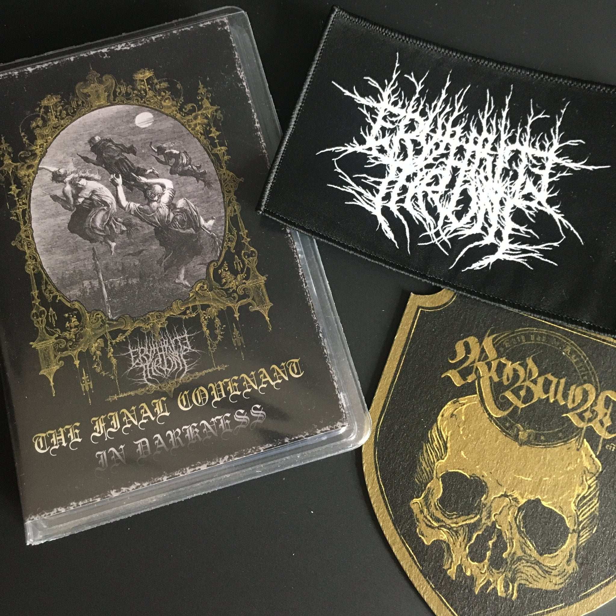 "[SOLD OUT] ERYTHRITE THRONE ""The Final Covenant in Darkness"" Deluxe Cassette Tape"