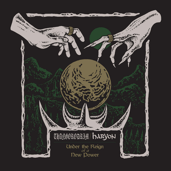 "THANGORODRIM / HARYON ""Under the Reign of a New Power"" Vinyl LP"