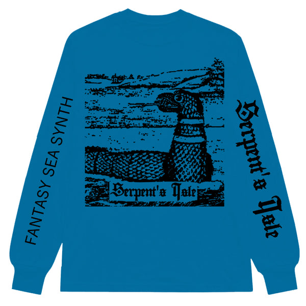 "SERPENT'S ISLE ""Sea Serpent"" Longsleeve [BLUE]"