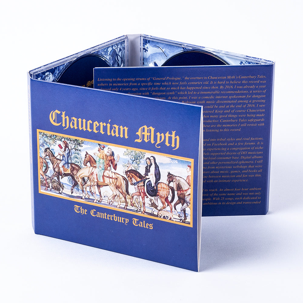 "CHAUCERIAN MYTH ""The Canterbury Tales"" 3xCD"