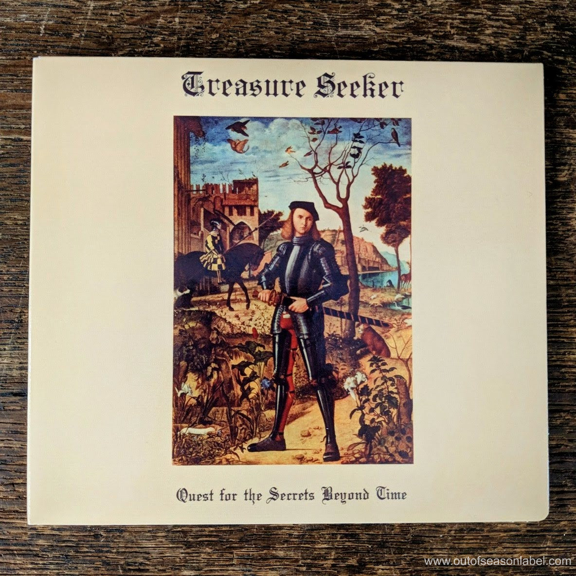 "[SOLD OUT] TREASURE SEEKER ""Quest for the Secrets Beyond Time"" CD"