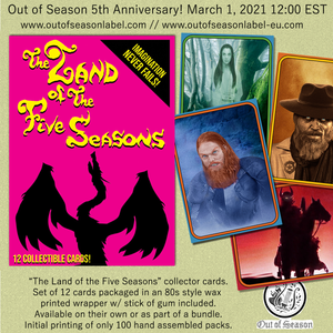"ERANG ""The Land of the Five Seasons"" Wax Pack Trading Cards (Set of 12) [PREORDER]"