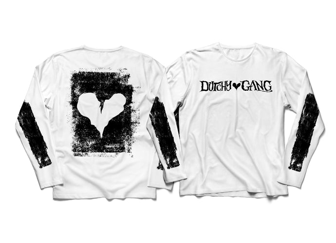 DUTCH REVZ MERCH LONG SLEEVE VOL.1 COLLECTION WHITE