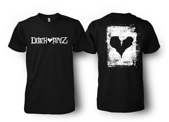 DUTCH REVZ MERCH T-SHIRT VOL.1 COLLECTION BLACK