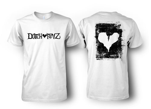 DUTCH REVZ MERCH T-SHIRT VOL.1 COLLECTION WHITE