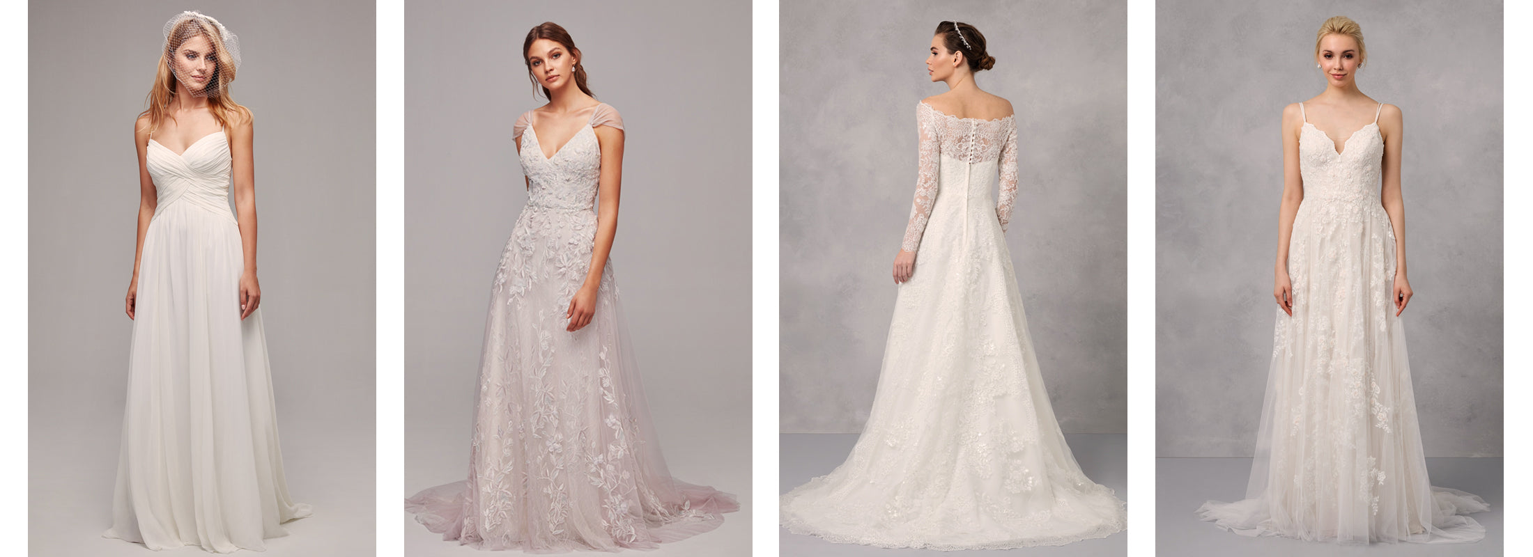 Oleg Cassini A-line wedding dresses - Finding the perfect dress