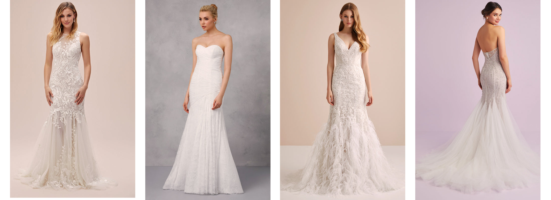 Oleg Cassini Mermaid and Trumpet Wedding Gowns