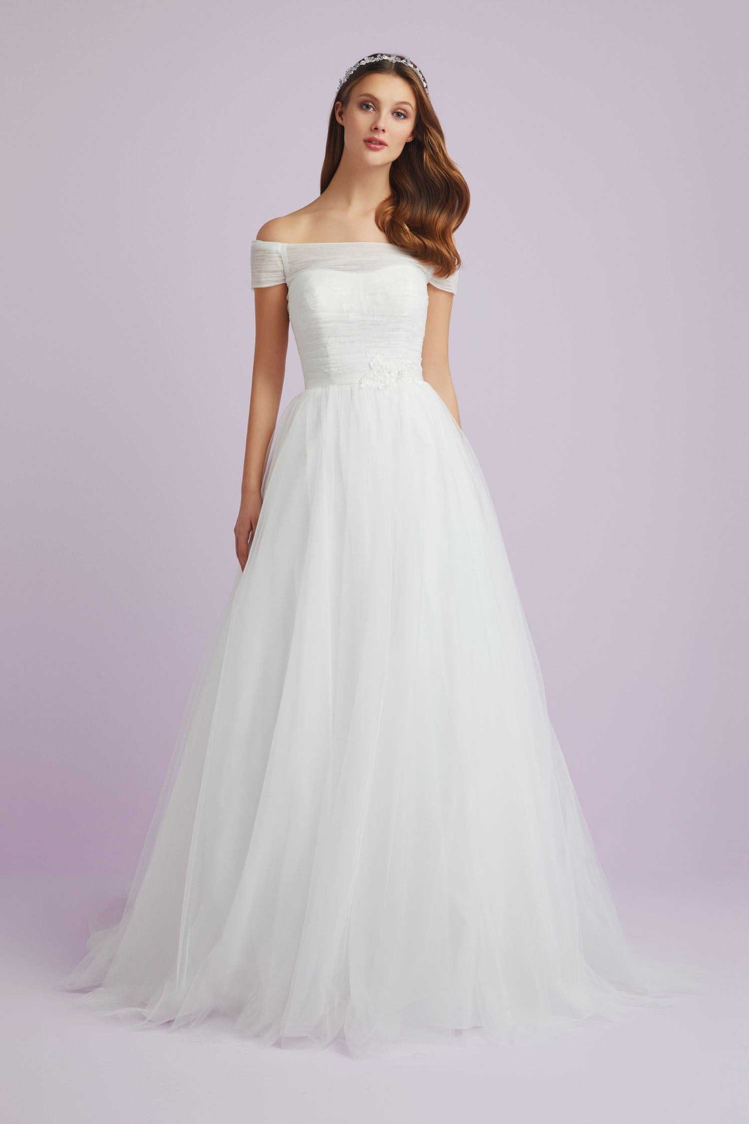 Tulle Wedding Dress 4xlwpd24806