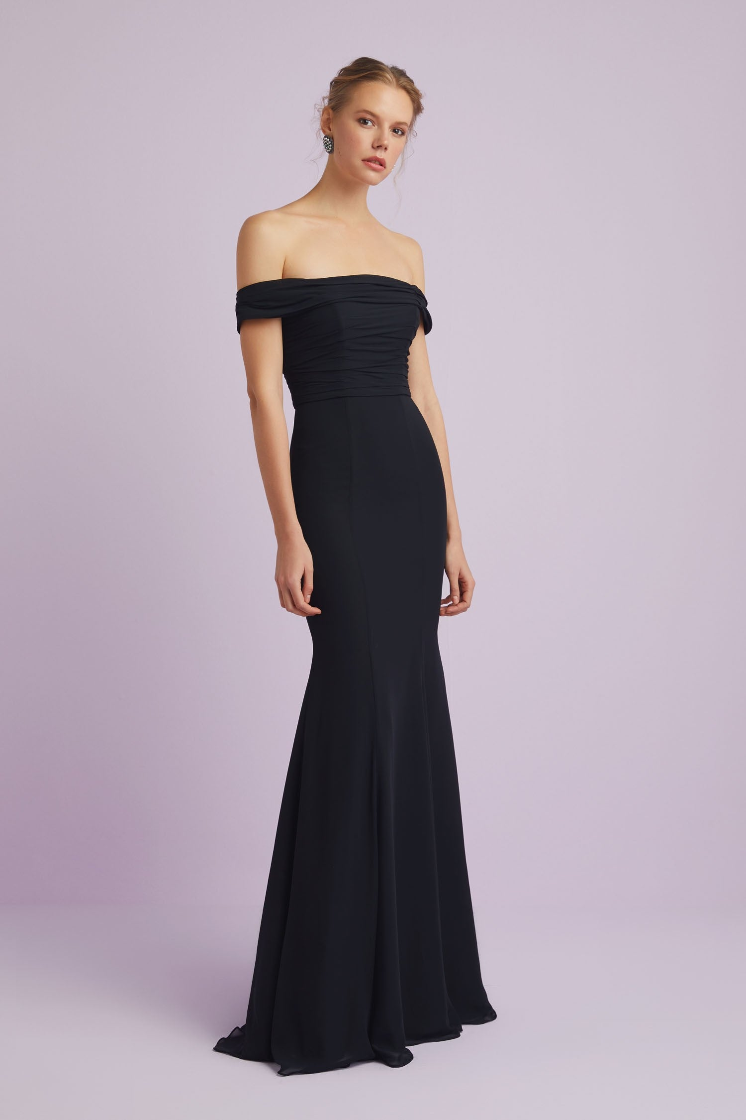 Off The Shoulder Formal Dress